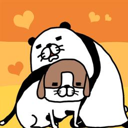 熊猫与狗狗狗一直超可爱中文版 1.0.2 安卓版-手机游戏