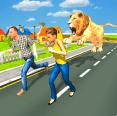 狂野狮子城市破坏