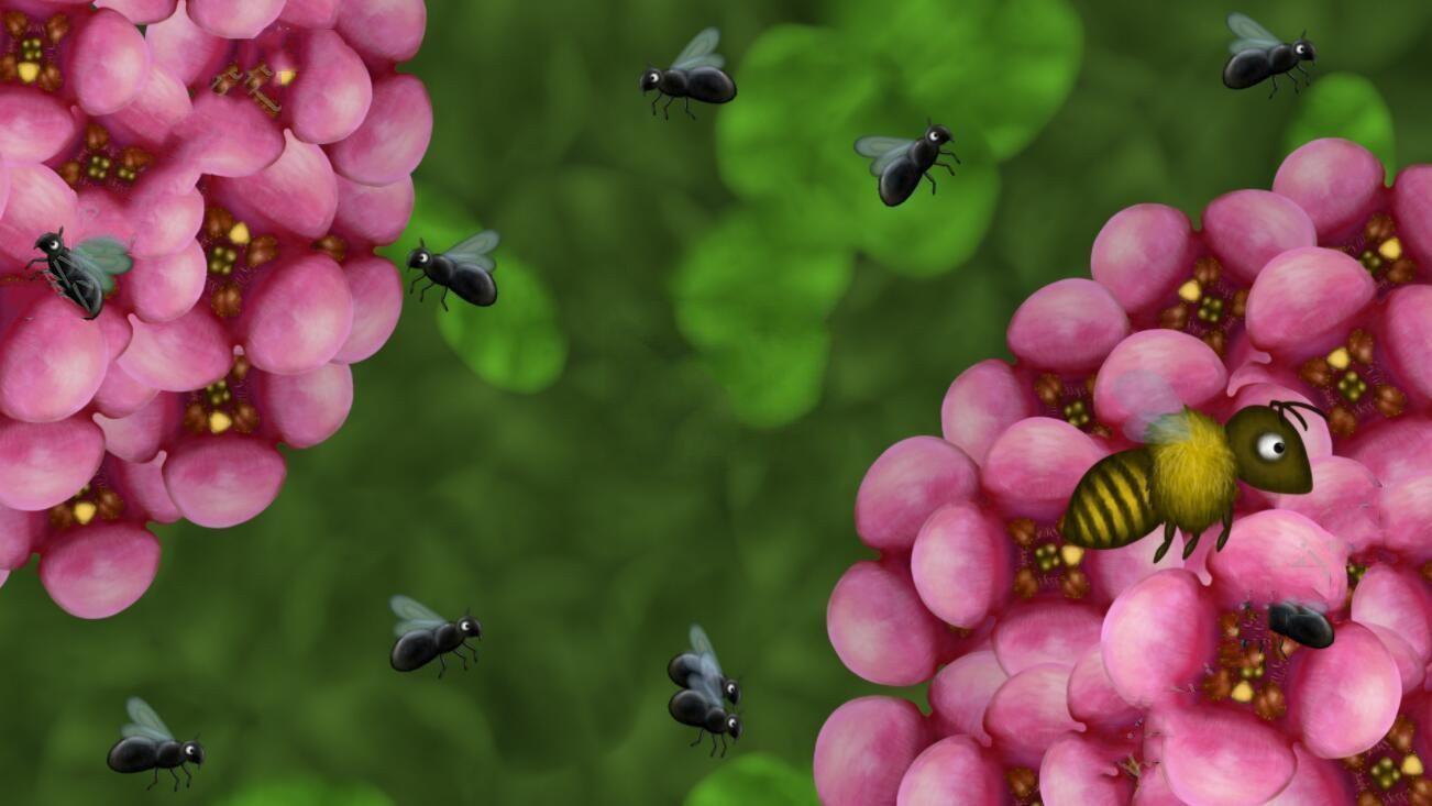 变异小蜜蜂