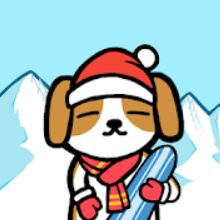 动物滑雪场