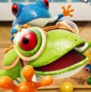 青蛙过街in玩具城手游app v1.0最新版