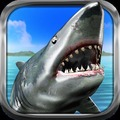饥饿的鲨鱼猎人