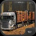 木材运输车