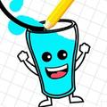 快乐玻璃杯画线-热门手游