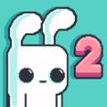 抖音像素兔子吃萝卜