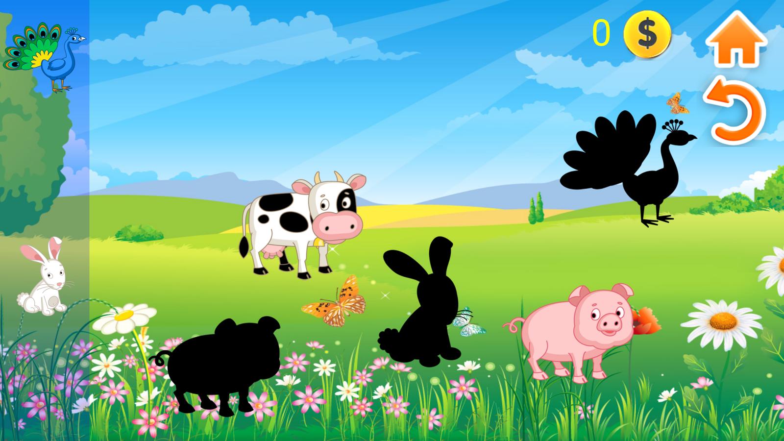 儿童益智游戏动物手机版app
