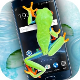 手机屏幕养青蛙