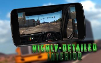 RacingTruckDriverTrafficRaceSimulatorGame3D