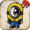 Draw Despicable Me Minions-手机游戏