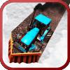雪犁拖拉机 - 挖掘