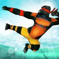 猿英雄忍者攻击城市