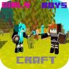 Boy Girl craft PE: Story mode