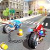 链式自行车3D:科幻摩托车手