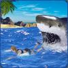 蓝鲸2017-愤怒的鲨鱼世界