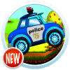 Robot Police Car Race