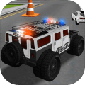 Police Car Driving Training