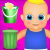 房子清洁和婴儿护理