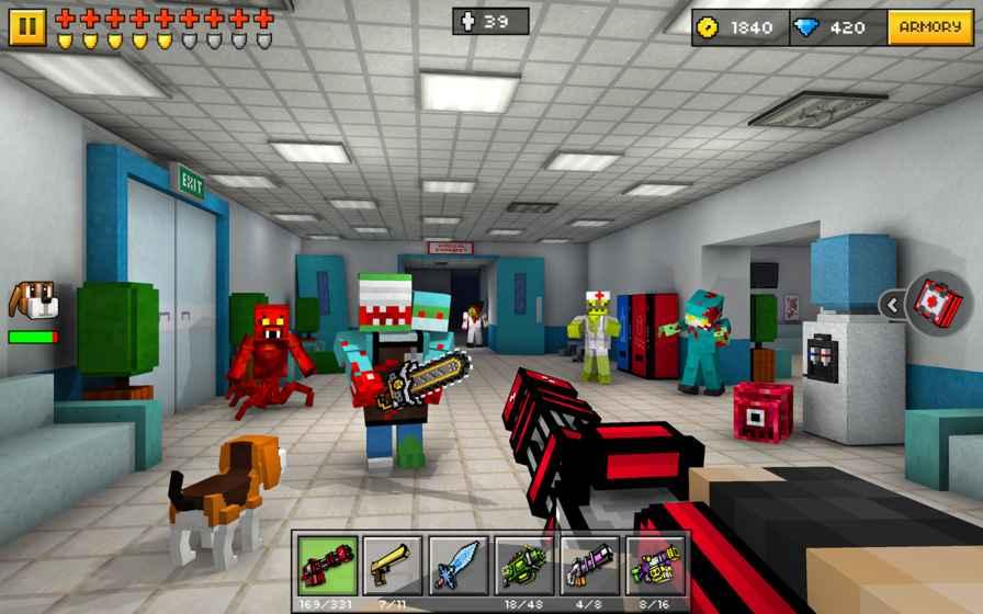 像素射击 (Pixel Gun 3D)-手机网游
