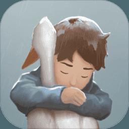 男孩与鹈鹕