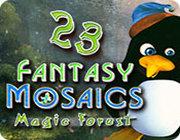 幻想马赛克23:魔法森林 英文版