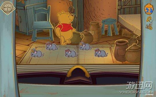迪士尼小熊维尼 英文版图片