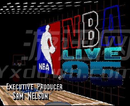 NBA live 95 英文版