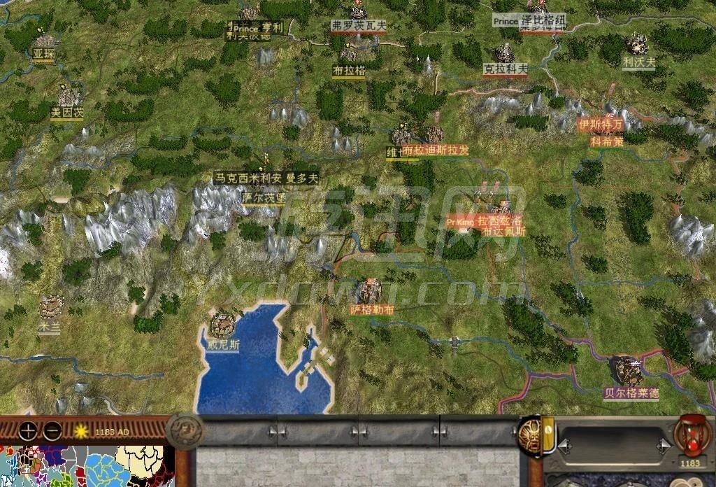 首页 单机游戏 即时战略 中世纪2全面战争:满江红 修订版  游戏截图