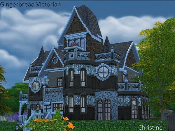 模擬人生4古典城堡風格別墅