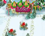 圣诞冰雪村 英文版