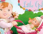 小女孩:茉莉和洋娃娃一起玩耍 英文版
