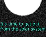 已到离开太阳系之时 英文版