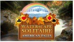 水景纸牌之美国瀑布 英文版
