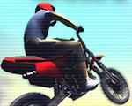障碍越野摩托