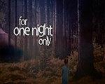 只有一个晚上