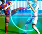 足球运动员争夺战