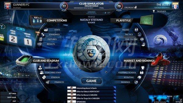 足球俱乐部模拟18 英文版