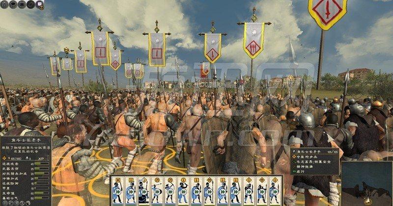 罗马2全面战争:斯巴达克斯 中文版