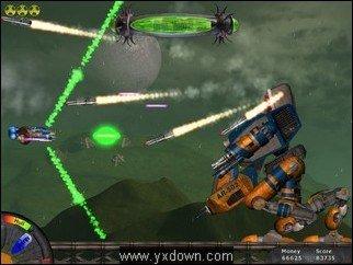 星际刀锋战士小游戏下载