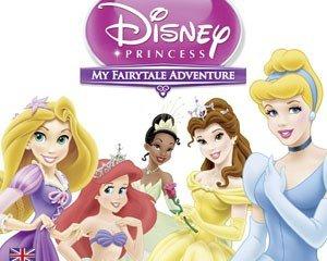 迪士尼公主:我的童话冒险 英文版