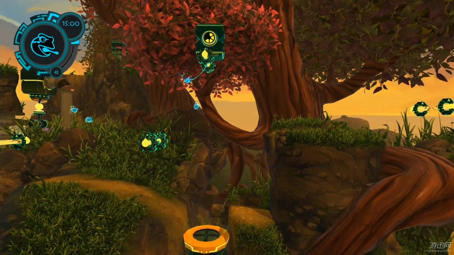 """操纵机器动物活用能力来探索瑰丽的游戏世界的想法非常有趣且富有创意,而动作冒险新作《机械动物园》将这一想法很好地融入到游戏中,在游戏中玩家们将经历一次有趣的冒险之旅。《机械动物园》是一款2D横版冒险游戏,该作由Good Mood Creators制作。在Mekazoo的游戏世界中,玩家将控制五种不同的""""机械动物"""",犰狳、青蛙、熊猫、鹈鹕、沙袋鼠。游戏中可以在解锁新动物后跟随关卡环境进行切换。每一种类型都有其独特的连技和独特的技能。 这款游戏节奏看上去相当快速,但是关卡本身貌似不是非常"""