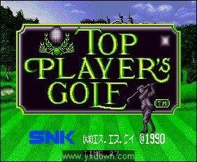 顶级高尔夫球手 日文版[GBA游戏]