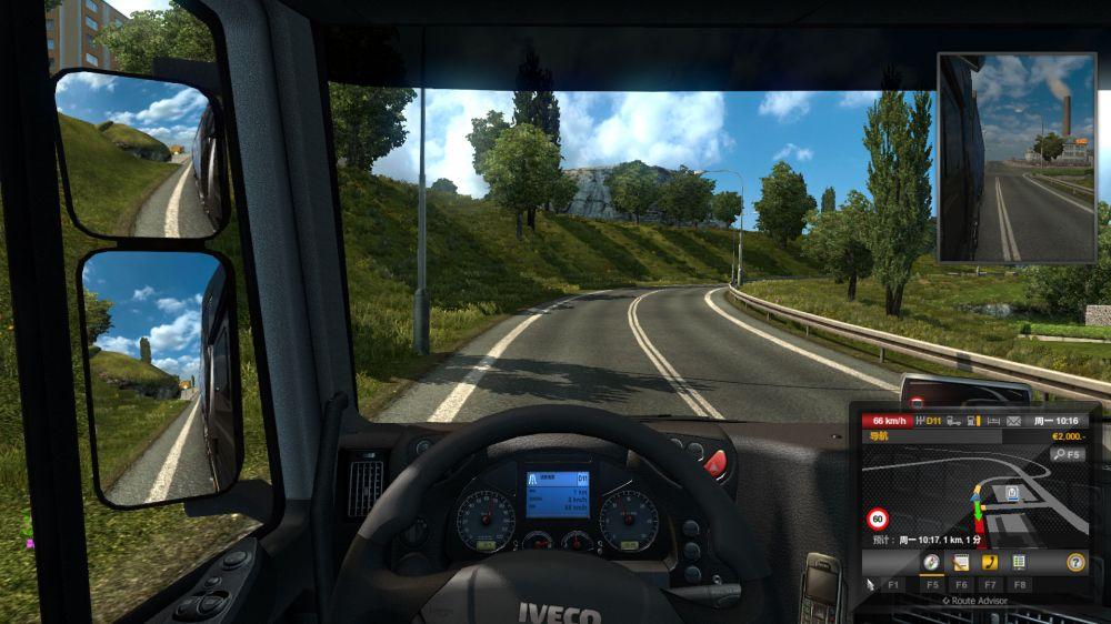 欧洲卡车模拟2补丁