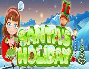 圣诞老人的假期 英文版