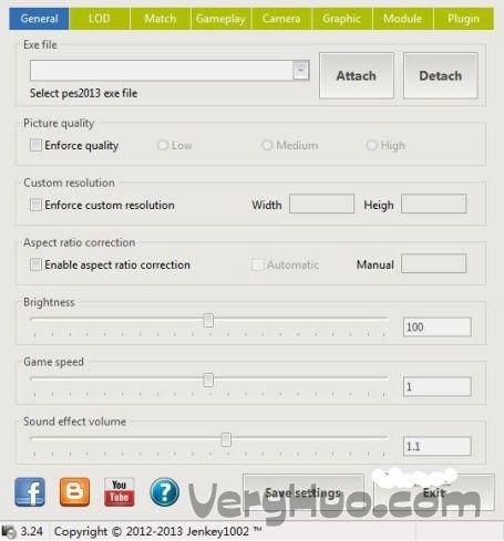 PES2013游戏玩法设置工具