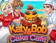 凯蒂和鲍伯:蛋糕咖啡馆 英文版