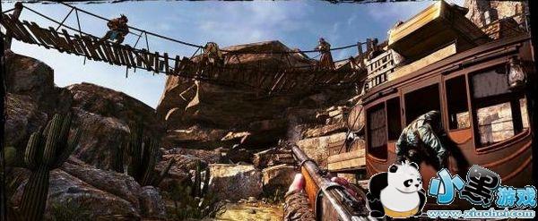 精彩医生西部IGN称游戏漫画十足狂野保健枪手镜头图片