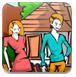 乡下风景填颜色-儿童小游戏