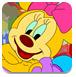 可爱的卡通拼图-儿童小游戏