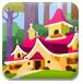 森林小屋着色-儿童小游戏
