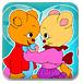 可爱的熊夫妻-儿童小游戏